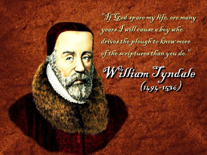 Introducing William Tyndale (1490-1536)